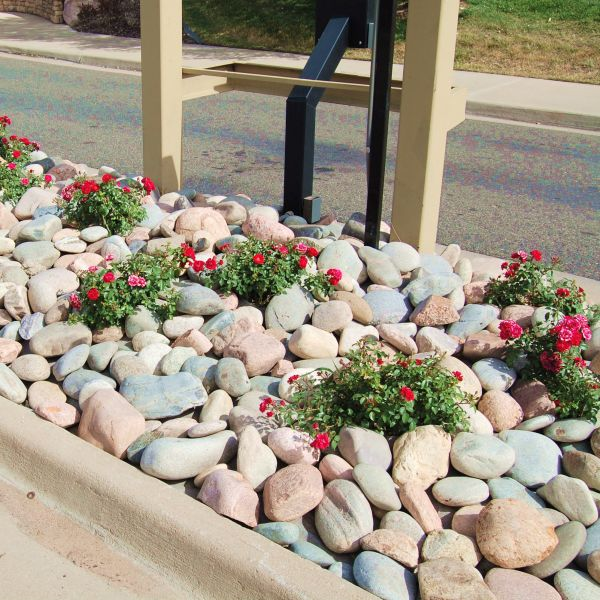 Colorado River Rock Landscaping